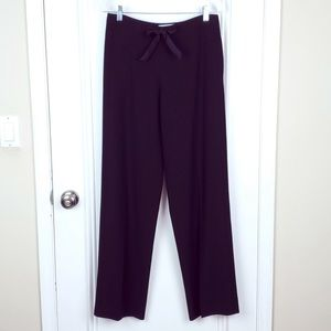 MaxMara   Black Wide Leg Trouser Pants Size 8